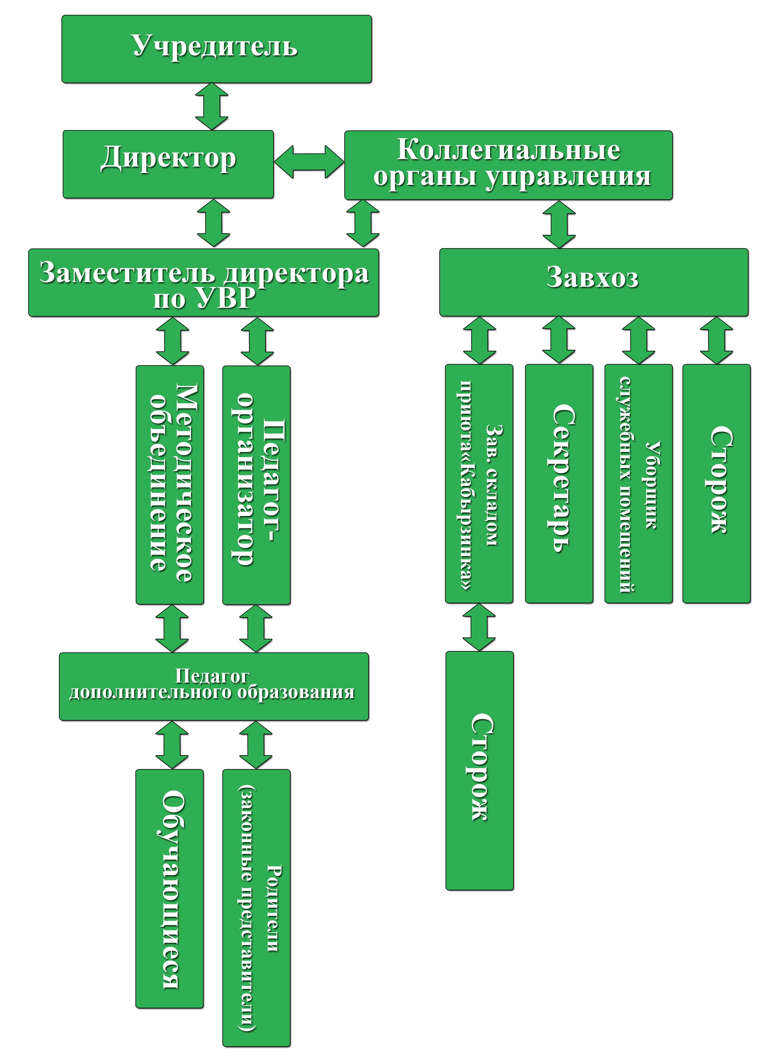 Структура МБОУ ДО СДЮТЭ